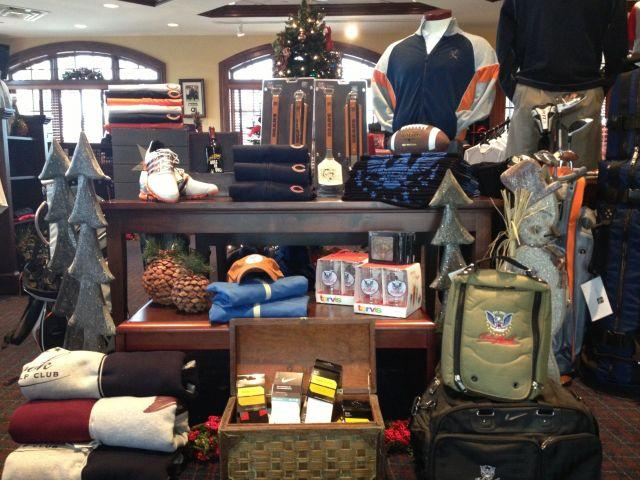 An interior shot of the pro shop at Bolingbrook Golf Club